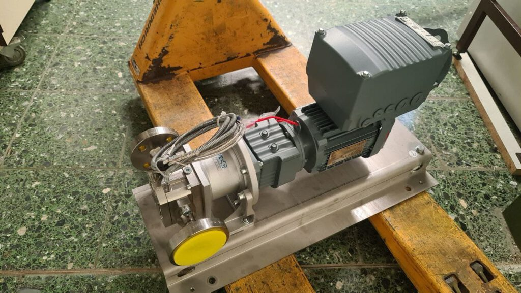 Witte pump with SEW eurodrive frequency converter